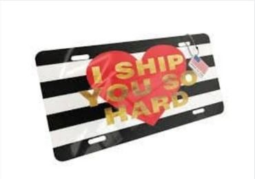 Girl Gift License Plate manufacturer and supplier in China