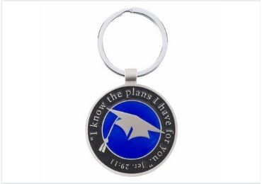 Graduation Enamel Keychain manufacturer and supplier in China