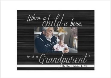 Grandfather Gift Photo Frame manufacturer and supplier in China