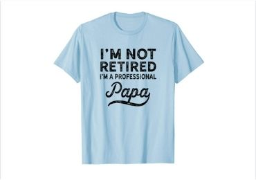 Grandfather Gift T-shirt manufacturer and supplier in China