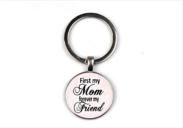 Grandmother Gift Epoxy Keychain manufacturer and supplier in China