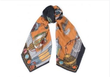Grandparents Gift Silk Scarf manufacturer and supplier in China