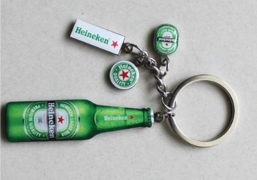 Heineken Sports Keyring manufacturer and supplier in China