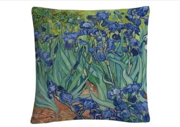 Irises Painting Collectible Pillows manufacturer and supplier in China