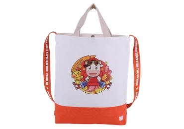 LOGO Printed Cotton Tote Bag manufacturer and supplier in China