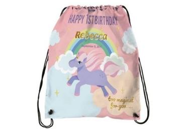 LOGO Printed Drawstring Bag manufacturer and supplier in China