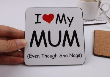 Mother's Day Cork Coaster manufacturer and supplier in China