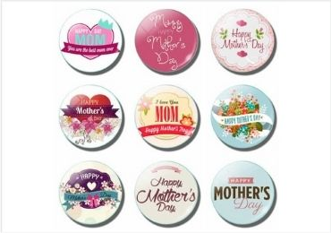 Mother's Day Tinplate Magnet manufacturer and supplier in China