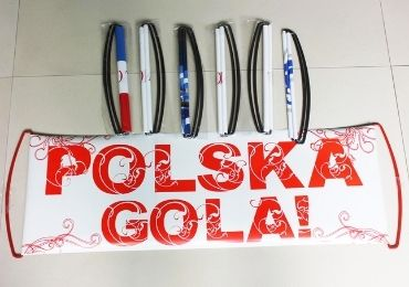 Poland Sports Football Banner manufacturer and supplier in China
