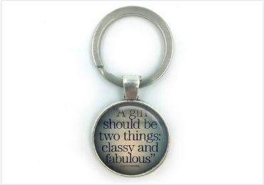 Promotional Epoxy Keyring manufacturer and supplier in China
