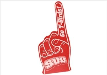 Red Color Foam Fingers manufacturer and supplier in China