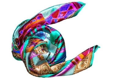 Silk Art Scarf manufacturer and supplier in China