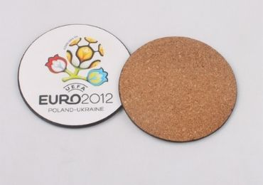Sports Fan Cork Coaster manufacturer and supplier in China
