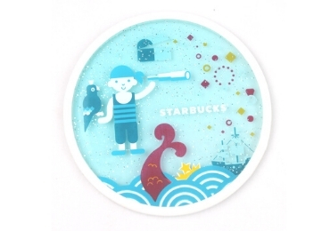 Starbucks Promotional Coaster manufacturer and supplier in China