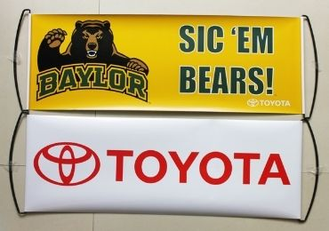 TOYOTA Sports Fan Banner manufacturer and supplier in China