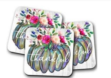 Thanksgiving Day MDF Coaster manufacturer and supplier in China