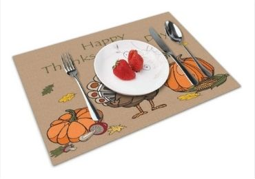 Thanksgiving Day Placemat manufacturer and supplier in China