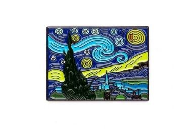 The Starry Night Metal Magnet manufacturer and supplier in China