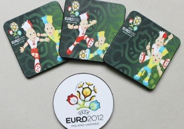 UEFA Sports MDF Coaster manufacturer and supplier in China
