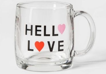 Valentine's Day Glass Mug manufacturer and supplier in China