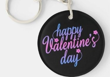 Valentine's Day Leather Keychain manufacturer and supplier in China