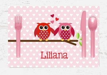 Valentine's Day MDF Placemat manufacturer and supplier in China