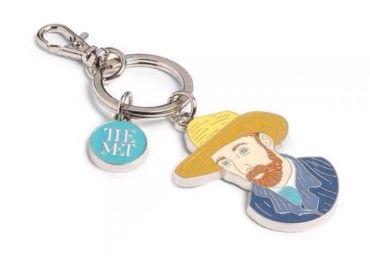 Van Gogh Enamel Keychain manufacturer and supplier in China