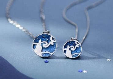 Van Gogh Enamel Pendant manufacturer and supplier in China