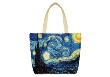 Van Gogh Gift Cotton Bag manufacturer and supplier in China
