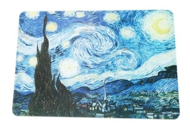 Van Gogh Gift Plastic Placemat manufacturer and supplier in China