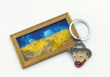Van Gogh Metal Keychain manufacturer and supplier in China