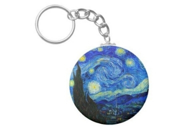 Van Gogh Painting Keychain manufacturer and supplier in China