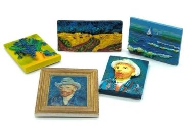 Van Gogh Resin Magnet manufacturer and supplier in China