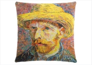 Van Gogh Self-Portrait Pillows manufacturer and supplier in China