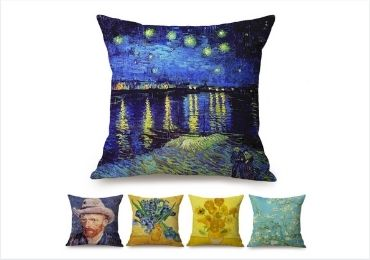 Van Gogh Travel Pillows manufacturer and supplier in China