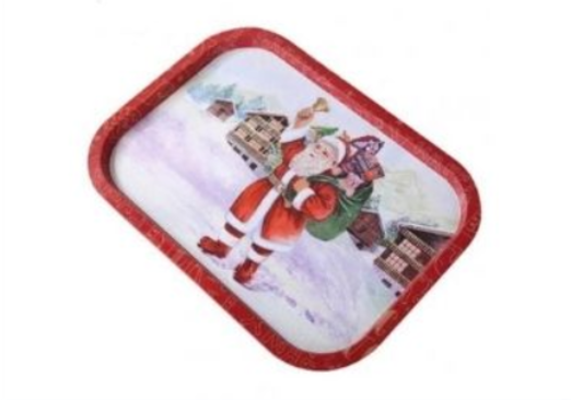 14 - Christmas Tray manufacturer and supplier in China