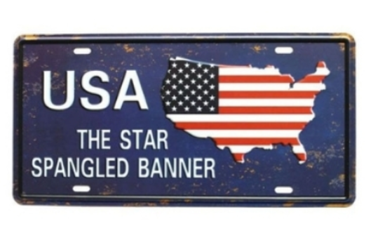 15 - Anniversary License Plate manufacturer and supplier in China