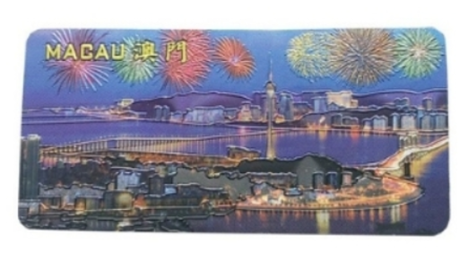 16 - Aluminum Foil Souvenir Magnet manufacturer and supplier in China