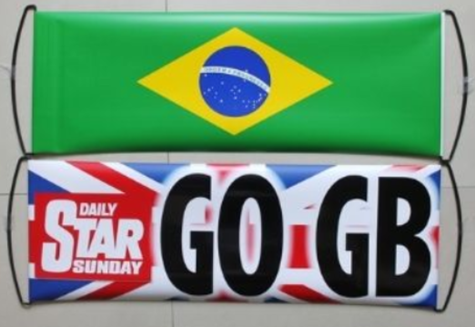 19 - England Sports Fan Banner manufacturer and supplier in China