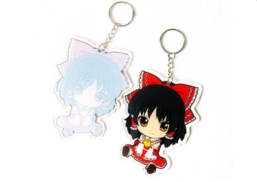 20 - Acrylic Promotional Keychain manufacturer and supplier in China