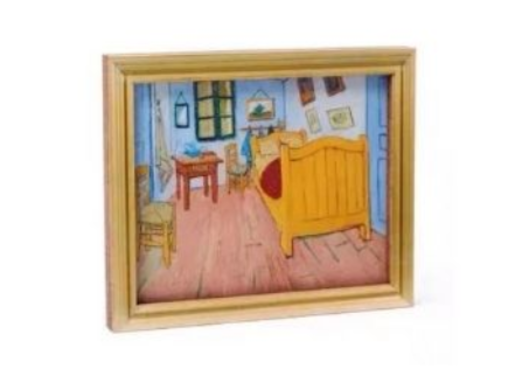 20 - Bedroom In Arles Photo Frame manufacturer and supplier in China