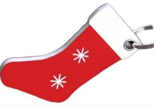 26 - Christmas Acrylic Tag manufacturer and supplier in China