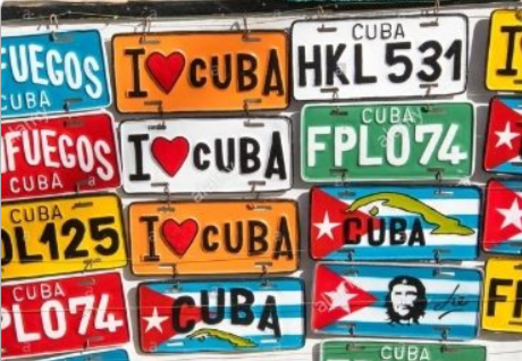 26 - Cuba Souvenir License Plate manufacturer and supplier in China