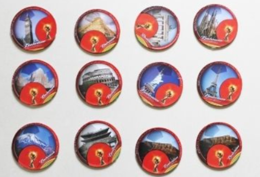 26 - FIFA Sports Collectable Coaster manufacturer and supplier in China