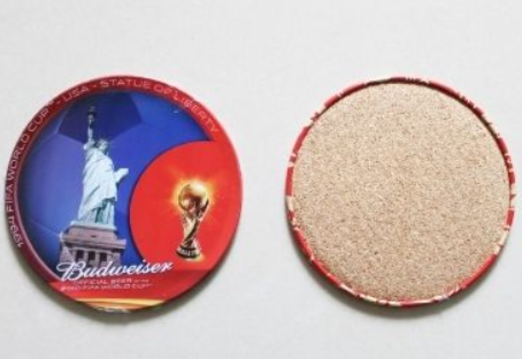 27 - FIFA Sports Tinplate Coaster manufacturer and supplier in China