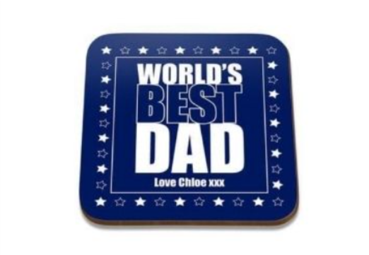 27 - Father Gift Coaster manufacturer and supplier in China