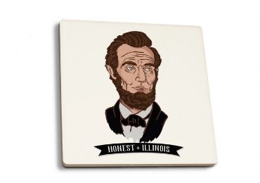 30 - Abraham Lincoln Souvenir Coaster manufacturer and supplier in China