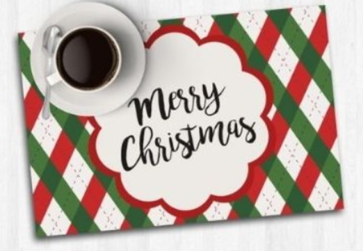 32 - Christmas Cork Table Mat manufacturer and supplier in China