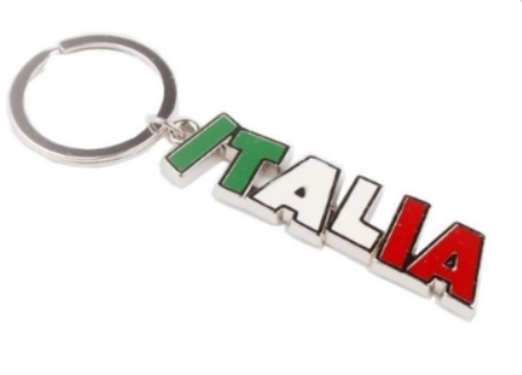 36 - Italia Football Sports Keychain manufacturer and supplier in China