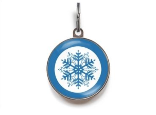38 - Christmas Epoxy Metal Tag manufacturer and supplier in China